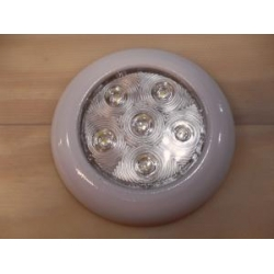 LED DOME LIGHT METAL HOUSING 100MM DIAMETER