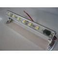 LED ALUMINIUM STRIP LIGHT  120MM. 1.9 WATTS WITH SWITCH & SWIVEL MOUNT