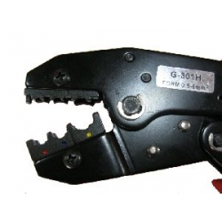 RATCHET CRIMPER OVAL SHAPE FOR INSULATED TERMINALS