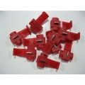 RED QUICK CONNECT JOINERS X 25 PCS