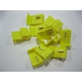 YELLOW QUICK CONNECT JOINERS X 25 PCS