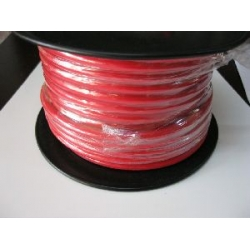 3 B&S SINGLE CORE TINNED CABLE       RED.  PER METRE