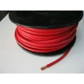 ELECTRICAL CABLE 12V 30 METER ROLL 8 B&S SINGLE INSULATED. RED