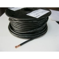 8 B&S SINGLE CORE TINNED CABLE     BLACK    PER METER