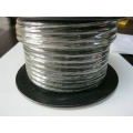 3 B&S SINGLE CORE TINNED CABLE   BLACK.  PER METRE
