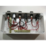 JUNCTION BOX  200MM X 100MM X 70MM WATERPROOF