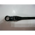 CABLE TIES (NYLON) 4.5MM X 110MM MOUNTABLE HEAD. 100 PIECES
