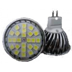 MR16 LED DOWN LIGHT 12V 24 X 5050SMD 4 WATT