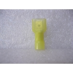 NYLON YELLOW MALE SPADE TERMINAL 25 PCS