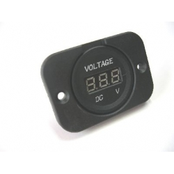 VOLT METER PANEL MOUNT WITH FACE PLATE
