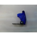 TOGGLE SWITCH SAFETY COVER - TRANSPARENT BLUE