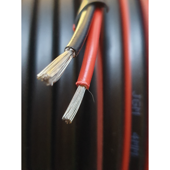 4MM TWIN CORE TINNED CABLE PER METRE