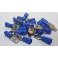 BLUE MALE SPADE 50 PCS