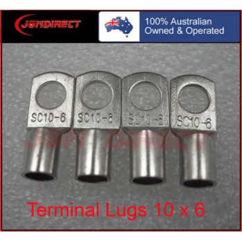 10 SQMM X 6MM RING CABLE LUG