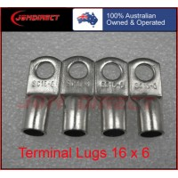16 SQMM X 6MM RING CABLE LUG