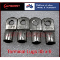 35 SQMM X 6MM RING CABLE LUG
