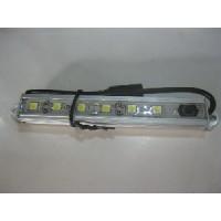 LED ALUMINIUM STRIP LIGHT  120MM. 1.9 WATTS WITH SWITCH