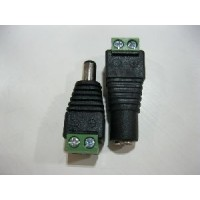 DC PLUGS 1 PAIR