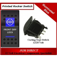 'FRONT DIFF LOCK' SWITCH ILLUMINATED BLUE