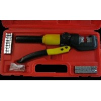 HYDRAULIC HEXAGONAL CRIMPER WITH 8 DIE SETS, 4 - 70 SQ MM