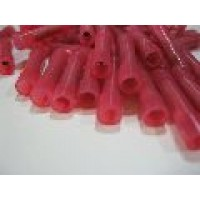 NYLON RED  IN-LINE / BUTT CONNECTORS 50 PCS