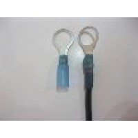 10MM BLUE RING TERMINAL HS 10PCS
