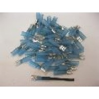 HS BLUE FEMALE SPADE  6.6MM 50PCS