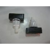 PUSH BUTTON SWITCH: WHITE. PANEL MOUNT. OFF/ON  4 PCS