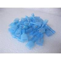 NYLON BLUE MALE SPADE TERMINAL 25 PCS