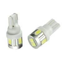 LED T10 WEDGE 6 X 5630SMD PAIR