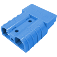 50 AMP BLUE ANDERSON TYPE PLUG WITH CONTACTS
