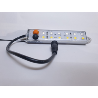 LED YELLOW WHITE COMBO STRIP 120MM FLAT MOUNT